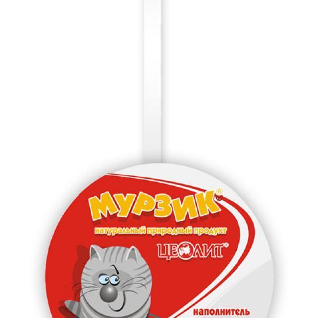 """Мурзик - дизайн P.O.S. материалов для наполнителей """"кошачьих"""" туалетов"""